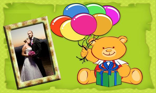 Birthday Photo Frame - Happy Birthday Photo Maker screenshot 1