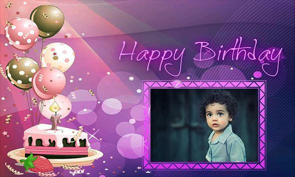 Birthday Photo Frame - Happy Birthday Photo Maker screenshot 2