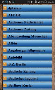 Deutsche Zeitungen screenshot 4