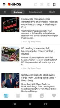 Wings News - Daily News App apk screenshot