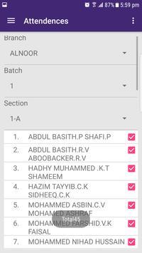 Alnoor School Teacher App screenshot 1