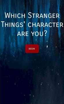 Stranger Things - Your Character poster