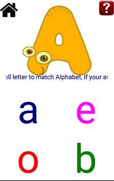 Alphabet Quiz apk screenshot