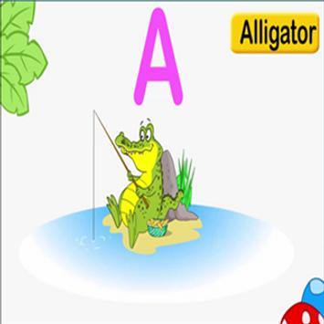 Alphabets App For Kids Game poster