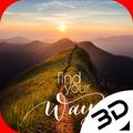 Alpine Sunrise Fnd Your Way Live 3D Wallpaper