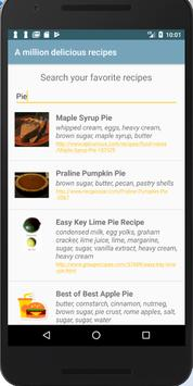Useful recipes poster