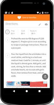 Useful recipes screenshot 2