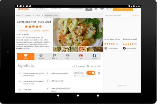 Useful recipes screenshot 6