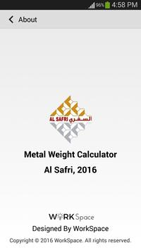 Metal Weight Calculator apk screenshot