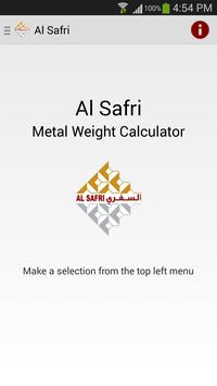 Metal Weight Calculator poster