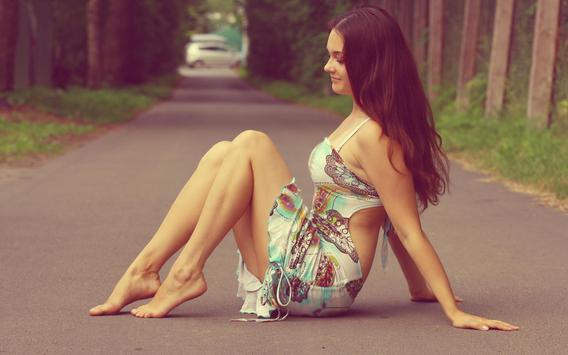 Beautiful Female & Sexy Girls Wallpaper - Free apk screenshot