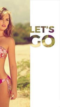 Hot Bikini Girls Photos And Wallpapers - Free poster