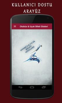 Otobüs & Uçak Bileti Siteleri poster