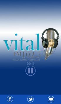FM Vital 102.5 ::: Santa Fe poster