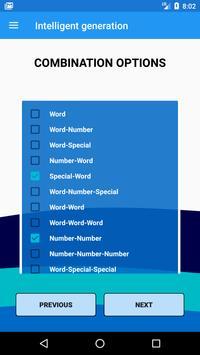 Wordlist generator screenshot 4