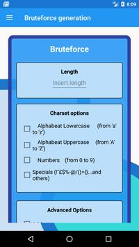 Wordlist generator screenshot 5