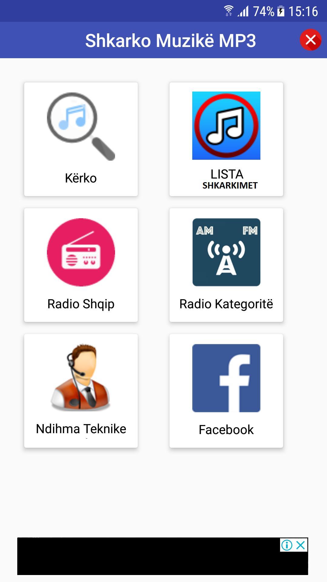 Shkarko Muzikë MP3 + Live Radio for Android - APK Download