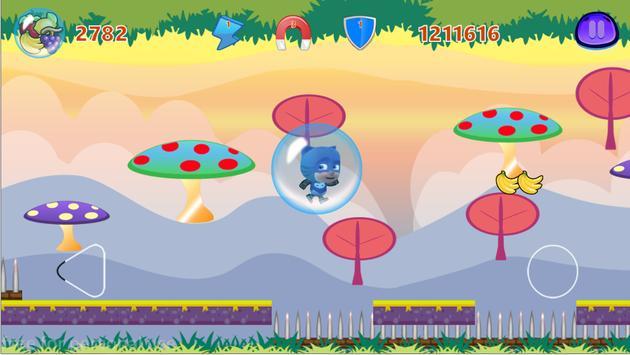 Pj Run Masks toys Super Adventure apk screenshot