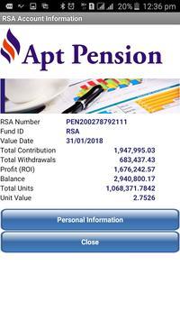 Apt Pension Mobile screenshot 1
