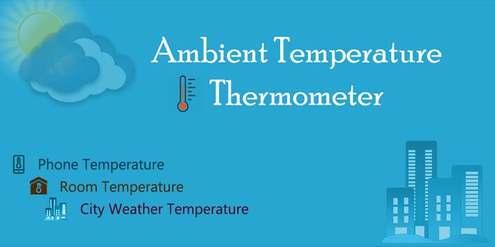 Ambient Temperature Thermometer poster