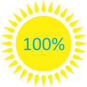 Battery Sun Widget icon