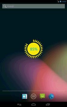 Battery Sun Widget screenshot 1