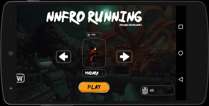 NNFRO RUNING poster