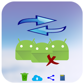 apps restore and backup icon