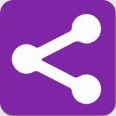 Apk Share Backup. Sharemyapps. Apk Sharer Restore icon
