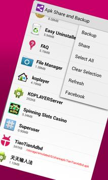 Apk Share Backup. Sharemyapps. Apk Sharer Restore apk screenshot