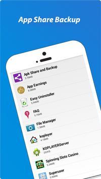 Apk Share Backup. Sharemyapps. Apk Sharer Restore screenshot 4