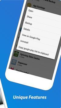 Apk Share Backup. Sharemyapps. Apk Sharer Restore screenshot 9