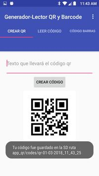 QR and Barcode Generator-Reader screenshot 3