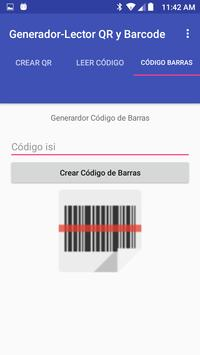 QR and Barcode Generator-Reader poster