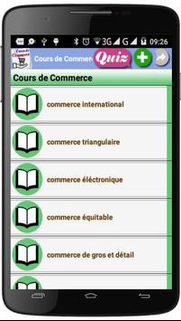 Cours de Commerce poster