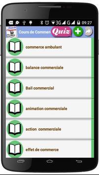 Cours de Commerce screenshot 2