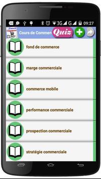Cours de Commerce screenshot 3