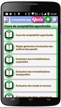 Cours de Comptabilité Approfondie poster