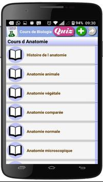 Cours de Biologie screenshot 2