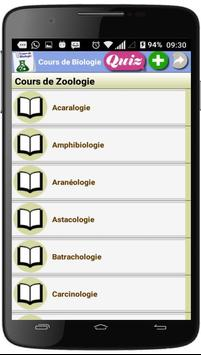 Cours de Biologie screenshot 3