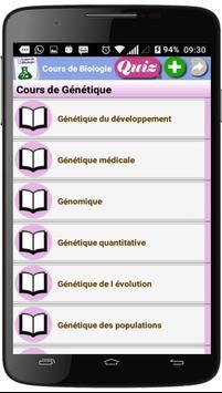Cours de Biologie screenshot 5