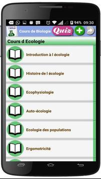 Cours de Biologie screenshot 6