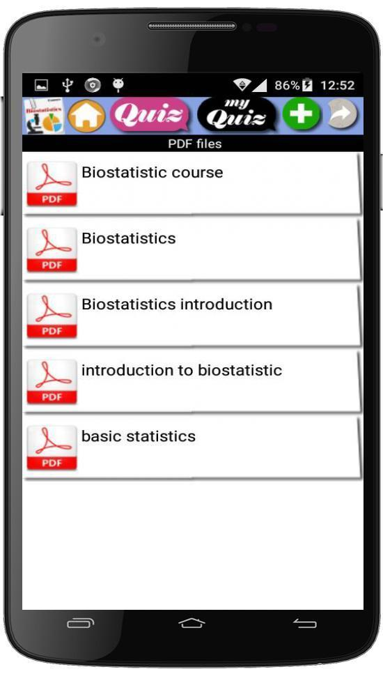 Biostatistics course for Android - APK Download