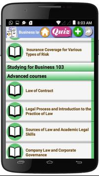 Business Law  Courses screenshot 4