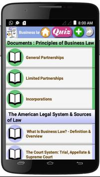 Business Law  Courses poster