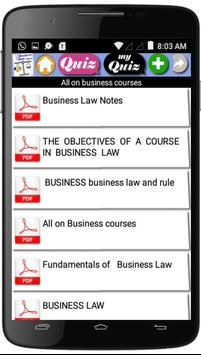 Business Law  Courses screenshot 3