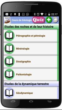 Cours de Géologie poster