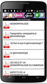 Cours de Géologie screenshot 1