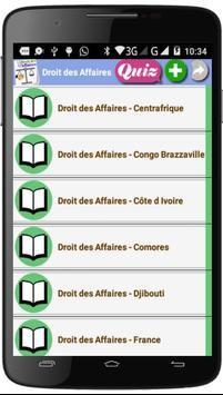 Droit des Affaires screenshot 2
