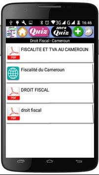Cours de Droit Fiscal screenshot 1
